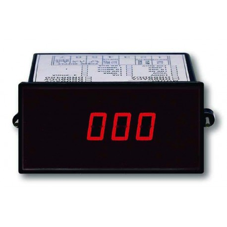 Lutron DR99DCA DC Ammeter Panel Meter