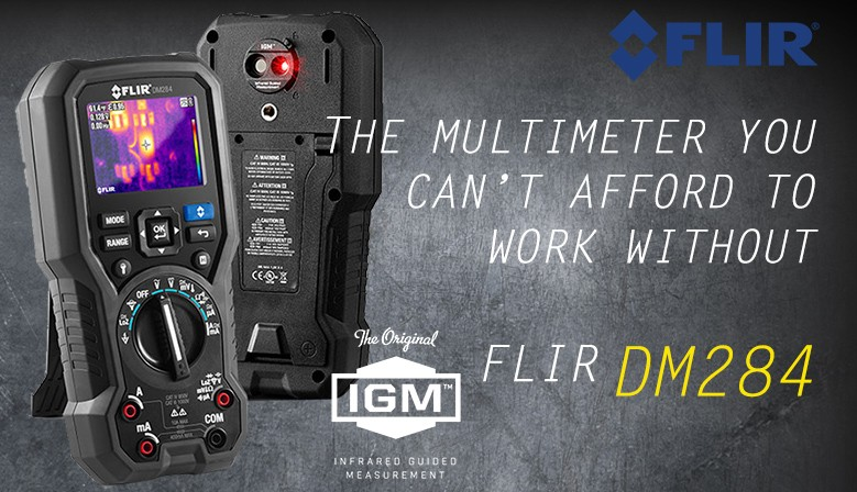 FLIR DM284 Digital Multimeter with Built in Infrared Guided Measurement